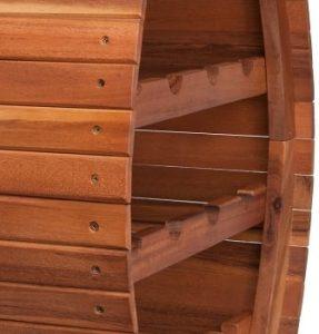 Deuba Botellero de madera-min